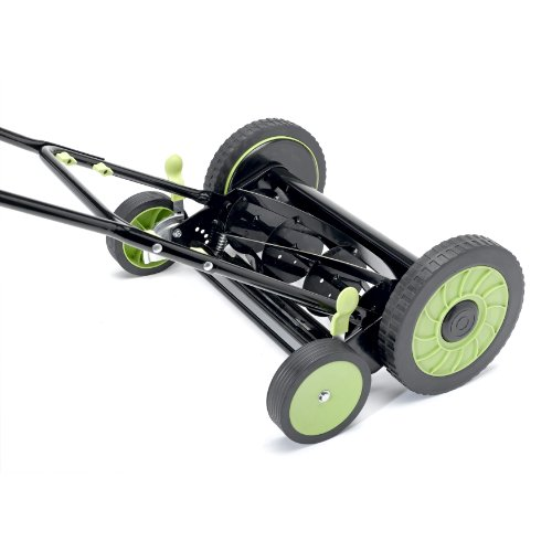 Cleva-LawnMaster LMRM1601 Reel Mower, 16-Inch picture