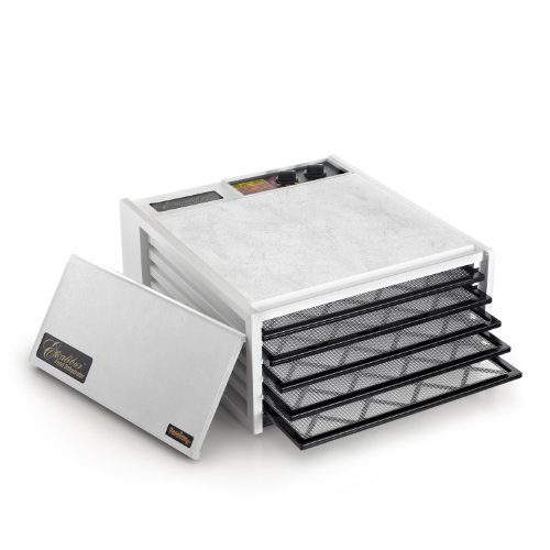 Excalibur 3526TW Excalibur 3526TW 5 Tray Dehydrator with Timer White, 1, White