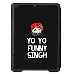 Skin4gadgets YO YO FUNNY SINGH Tablet Designer BLACK SMART CASE for APPLE IPAD AIR2