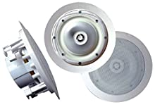 Pyle - Pro Sound Pwrc81 400W 2Way In-Ceiling 8In Pwrc81 400W 2Way In-Ceiling 8In Pwrc81 400W 2Way In-Ceiling 8In Pwrc81 400W 2Way In-Ceiling 8In 11.5In L X 11.2In W X 9.4In H