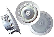 Pyle - Pro Sound Pwrc81 400W 2Way In-Ceiling 8In Pwrc81 400W 2Way In-Ceiling 8In Pwrc81 400W 2Way In-Ceiling 8In Pwrc81 400W 2Way In-Ceiling 8In 11.5In L X 11.2In W X 9.4In H