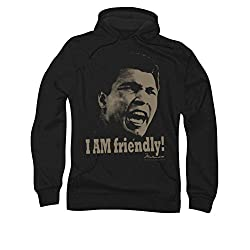 Muhammad Ali Friendly Pull Over Hoodie