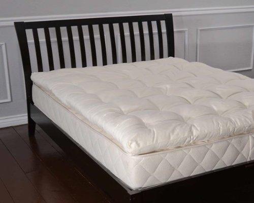 Bio Sleep Concept Organic Wool 3-Inch, Twin Size Mattress Topper front-265844