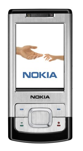 Nokia 6500 slide silver (UMTS, GPRS, EGPRS, Kamera mit 3,2 MP, Organizer, Musik-Player) Handy