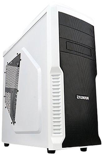 Zalman Z3 Plus W Boîtier ATX 4 x 3,5/2 x 5,25 USB Audio Blanc