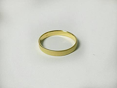 92.5% Sterling Silver Ring : 3 mm. band with Brush Gold Plated 1 Micron - Simple Green Hand Cleaner