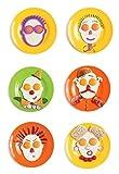 Spiegeleiform-5er-Set-Eule-Kaninchen-Sonne-Mensch-Totenkopf-fr-Kinder-Familie-Pfannkuchen-Form-Backform-Spiegeleierform