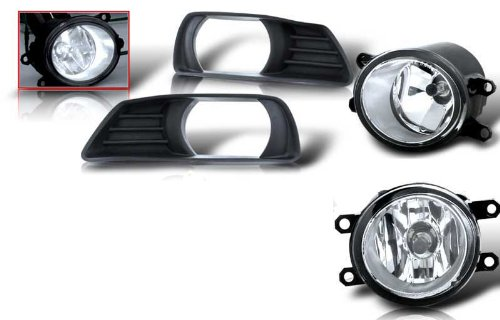07-09 TOYOTA CAMRY OEM FOG LIGHT - CLEAR (WIRING KIT INCLUDED) (Toyota Camry Fog Light Cover 2009 compare prices)