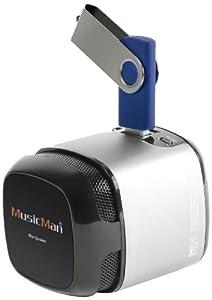 Musicman Makro Soundstation X6 Haut-parleur Argent