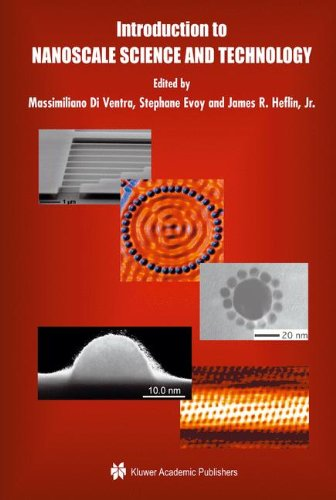 Introduction To Nanoscale Science And Technology (Nanostructure Science And Technology)