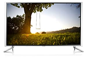 Samsung UE40F6890 101 cm (40 Zoll) 3D-LED-Backlight-Fernseher (Full HD, 400Hz CMR, DVB-T/C/S2, CI+, WLAN, Smart TV, HbbTV, Sprachsteuerung) schwarz