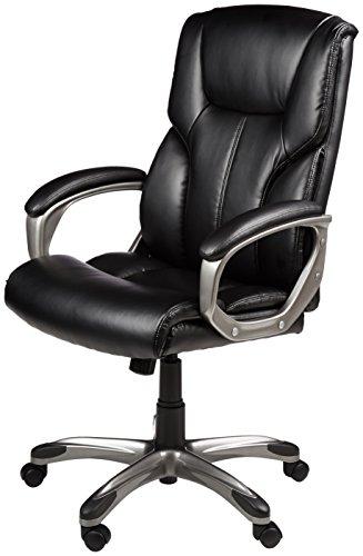 Attirant AmazonBasics High Back Executive Chair   Black  (d74f5547782e79a75b6f1099aa4d9a36)   PCPartPicker