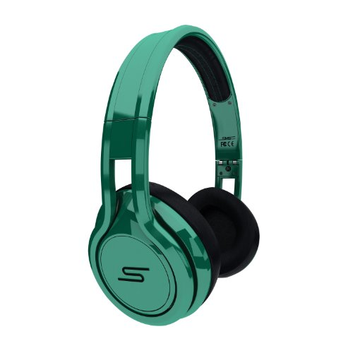 SMS Audio STREET by 50 Cent On Ear Limited Edition Headphone Green 41e7m4Yj%2BbL
