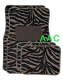 41e7mUk4WtL. SL160  A Set of 4 Universal Fit Animal Print Carpet Floor Mats for Cars / Truck   Tiger