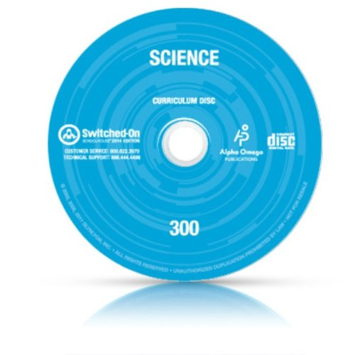 2014 Switched On Schoolhouse, 3Rd Grade, Grade 3 Science Curriculum By Aop (Alpha Omega Homeschooling), Sos Cd-Rom