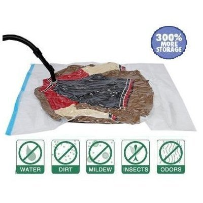 "8 Pack Space Saver Vacuum Storage Bags Medium Size (28""X20"")+ 2 Travel Storage Bags"