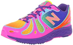 New Balance KJ890 Grade Running Running Shoe (Big Kid),Rainbow,5 M US Big Kid
