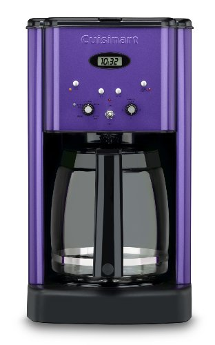 1200MPUR Brew Central 12 Cup Programmable Coffeemaker, Metallic Purple