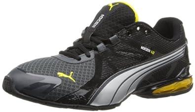 PUMA Men's Voltaic 5 Cross-Training Shoe,Dark Shadow/Black/Vibrant Yellow,6.5 M US