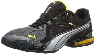PUMA Men's Voltaic 5 Cross-Training Shoe,Dark Shadow/Black/Vibrant Yellow,10 M US