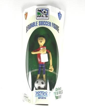 Picture of Bendos Sports Real Bendable Soccer Figure (B005DMP6YU) (Bendos Sports Action Figures)