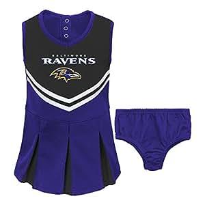 Buy Nfl Baltimore Girl S Toddler Two Piece Cheerleader