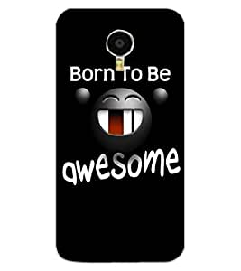 ColourCraft Funny Image with Quote Design Back Case Cover for MEIZU BLUE CHARM NOTE 3