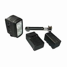 Lumiere L.A. 10W 20W Dual 3200K Tungsten Halogen Video Light Kit