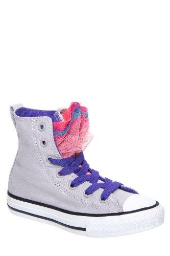 Converse Kids' 642812f Chuck Taylor Party Hi Top Sneaker