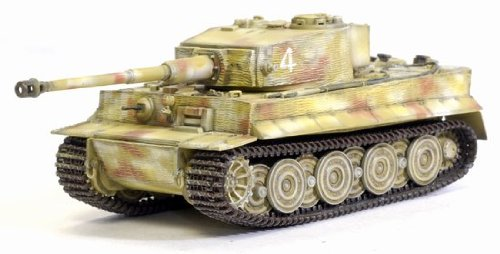 Dragon 1/72 Tiger I Late Production With Zimmerit