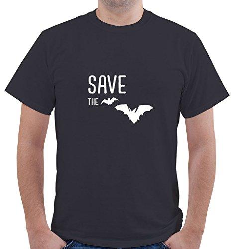 SAVE THE BATS Animal Animals Unisex Short Sleeve T Shirt