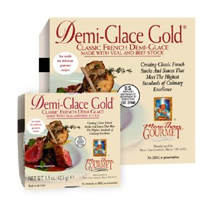 More Than Gourmet Demi-glace Gold� French Demi-glace, 16-Ounce Unit