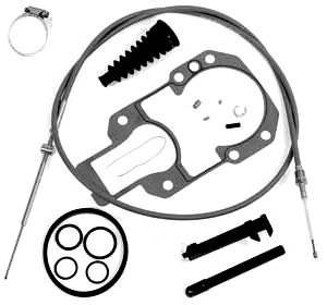 Intermediate Shift Cable Kit for Alpha One, R, MR and Gen II replaces 865436A02 19543T2