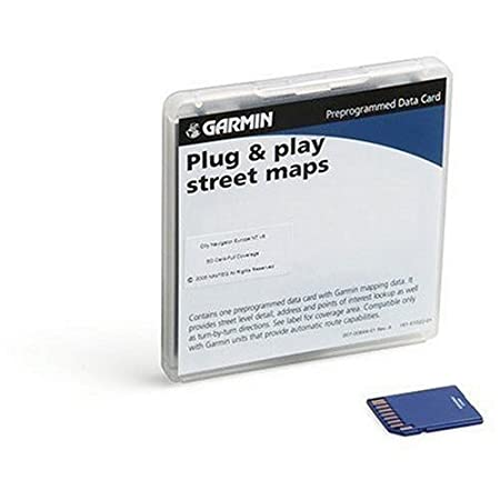 Garmin City Navigator for Detailed Maps of Brazil (microSD/SD Card)