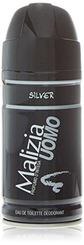 Malizia Deo Spray Uomo Silver Ml.150