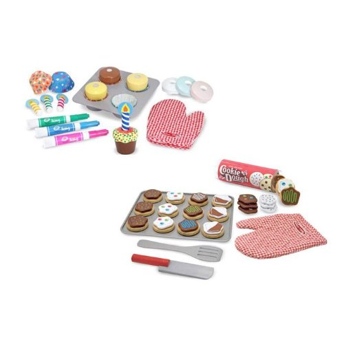 Melissa and Doug Cupcake and Cookie Set