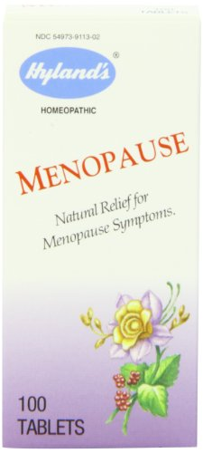 Best Buy! Hyland's Menopause Tablets, Natural Homeopathic Relief of Menopause Symptoms, 100 Count