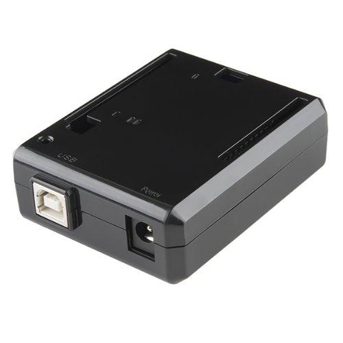 Arduino Uno R3 Enclosure case box - Black Plastic