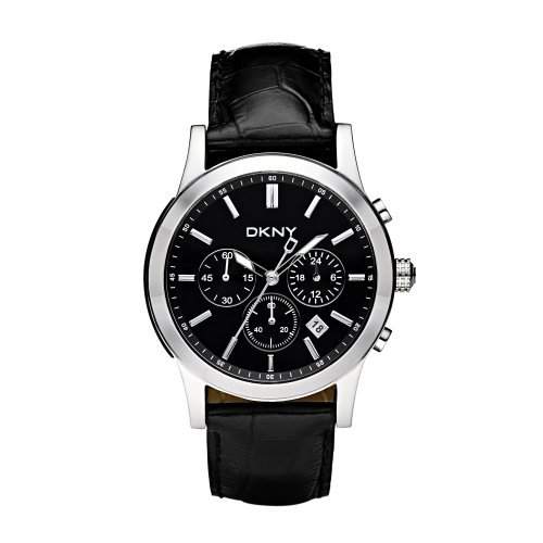 DKNY NY1472 Mens Chronograph Black Watch