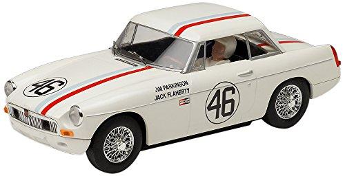 superslot-mgb-kjelle-qvale-46-coche-slot-hornby-s3415