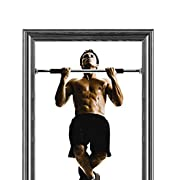 Ollieroo? Doorway Chin up Pull up Bar Home Gym Health & Fitness Exercise Trainer Machine