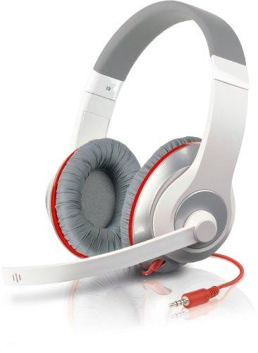 Speedlink AUX Stereo Headset weiß/rot