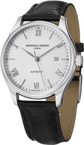 Frederique Constant Men's FC303SN5B6 Index Analog Display Swiss Automatic Black Watch image