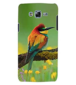 ColourCraft Amazing Bird Design Back Case Cover for SAMSUNG GALAXY J7