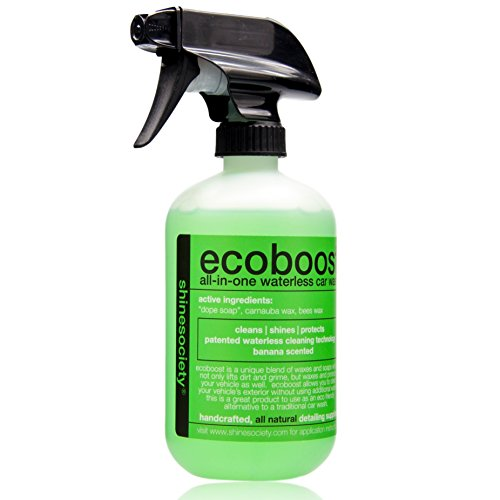 Ecoboost: All-Natural High Gloss Quick Detailer Spray - Waterless Car Wash - by Shine Society (16 oz.) (Armorall Premium compare prices)