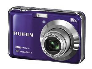 Fujifilm FinePix AX650 Digital Camera - Purple (16 MP, 5x Optical Zoom) 2.7 inch LCD
