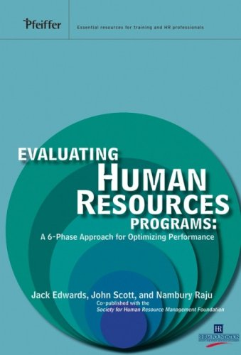 Evaluating Human Resources Programs: A 6-Phase Approach...