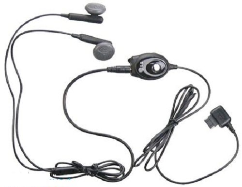 Lg Sgey0003610 Stereo Earbud Headset - Non-Retail Packaging - Black