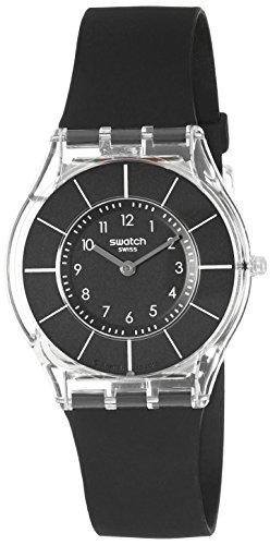 swatch-damen-armbanduhr-black-classiness-sfk361