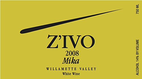 2008 Z'Ivo Willamette Valley Mika White Wine Blend 750 Ml